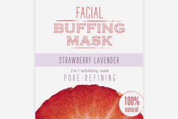 Farmhouse Strawberry Lavender Facial Buffing Mask